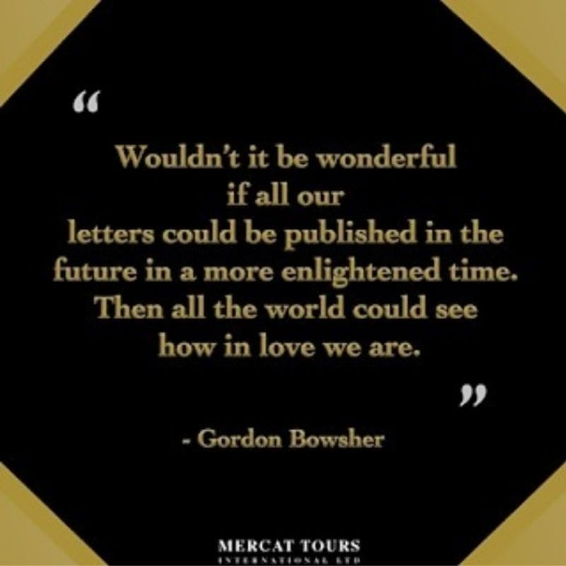 Gordon Bowsher Quote