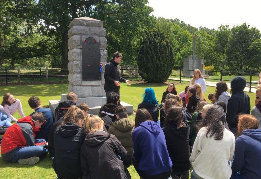 Mercat Tours International WWI Storyteller Hill 60, Ypres, Belgium