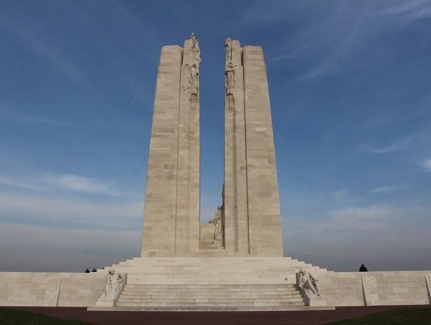 Vimy Ridge memorial, Vimy, France