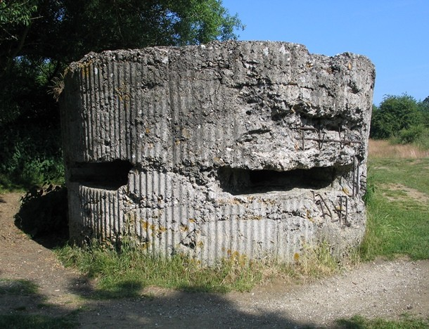 Hill 60, Ypres Belgium, pillbox marks the scene of the battles
