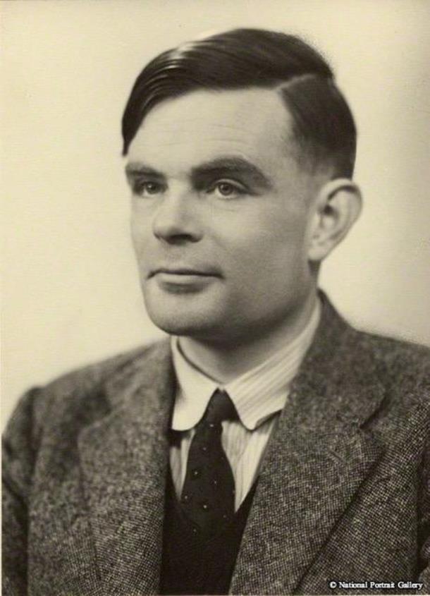Alan Turning Portrait