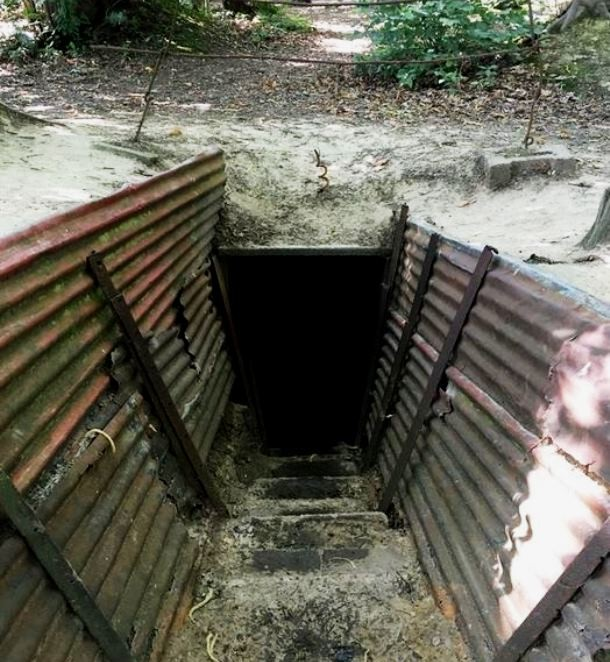 Mercat Tours International | Life In The Trenches of WW1 - a look into the trenches at Sanctuary Wood Preserved Trenches and Museum near Hill 62